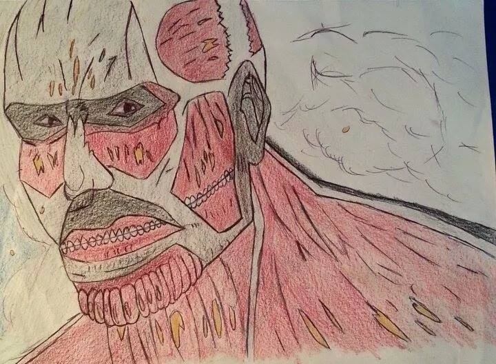 Colossal Titan by NinjaCard204