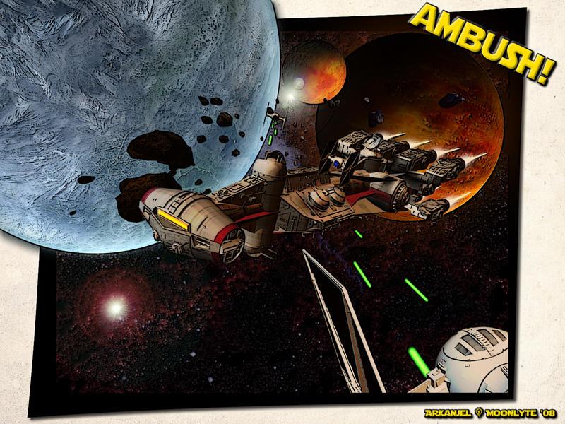 Ambush Revisited by Arkanjel8