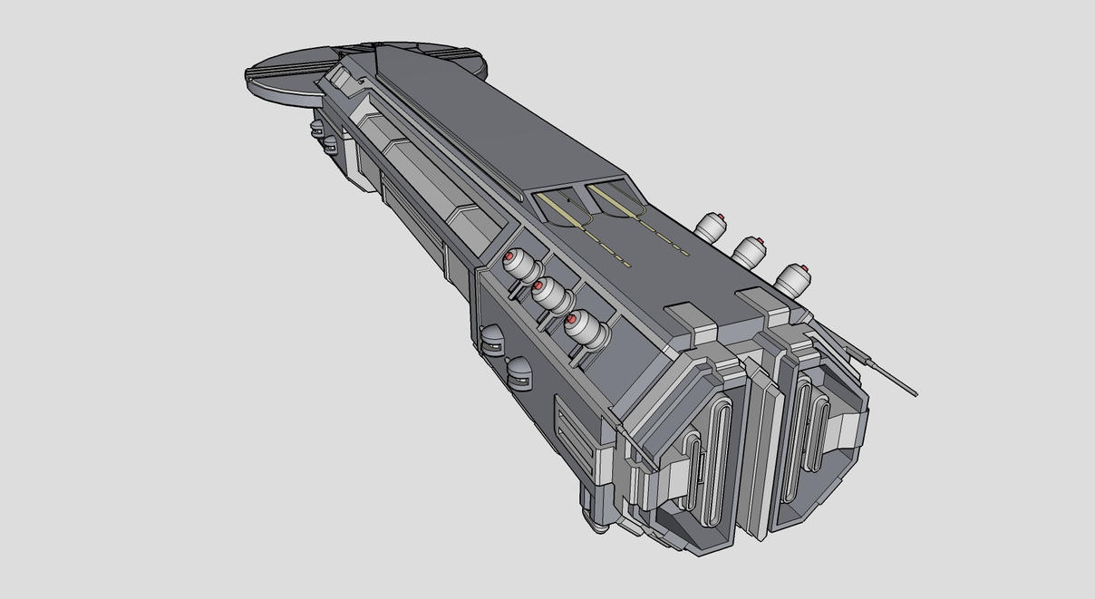 ION Frigate Rear WIP by Arkanjel8