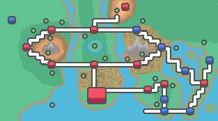 Unova and East Unova by SuperTrainStationH