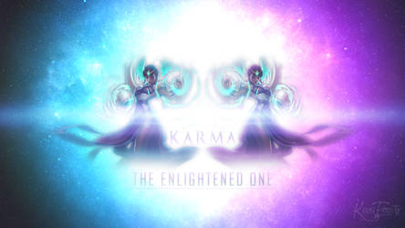 Karma The Enlightened One Wallpaper by Furydeath2