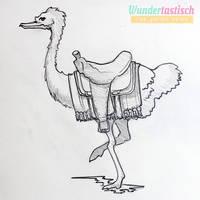 Ostrich Concept by Wundertastisch