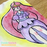 Inktober #27 - Princess Bubblegum by Wundertastisch
