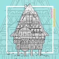 MLSP #02 - Thumbnail for Medieval Frame-House