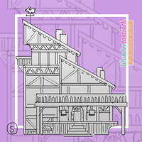 MLSP #04 - Thumbnail for Medieval Frame-House
