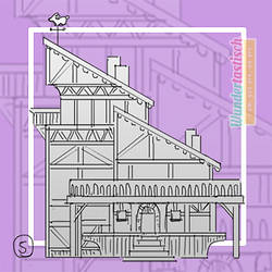 MLSP #04 - Thumbnail for Medieval Frame-House by Wundertastisch