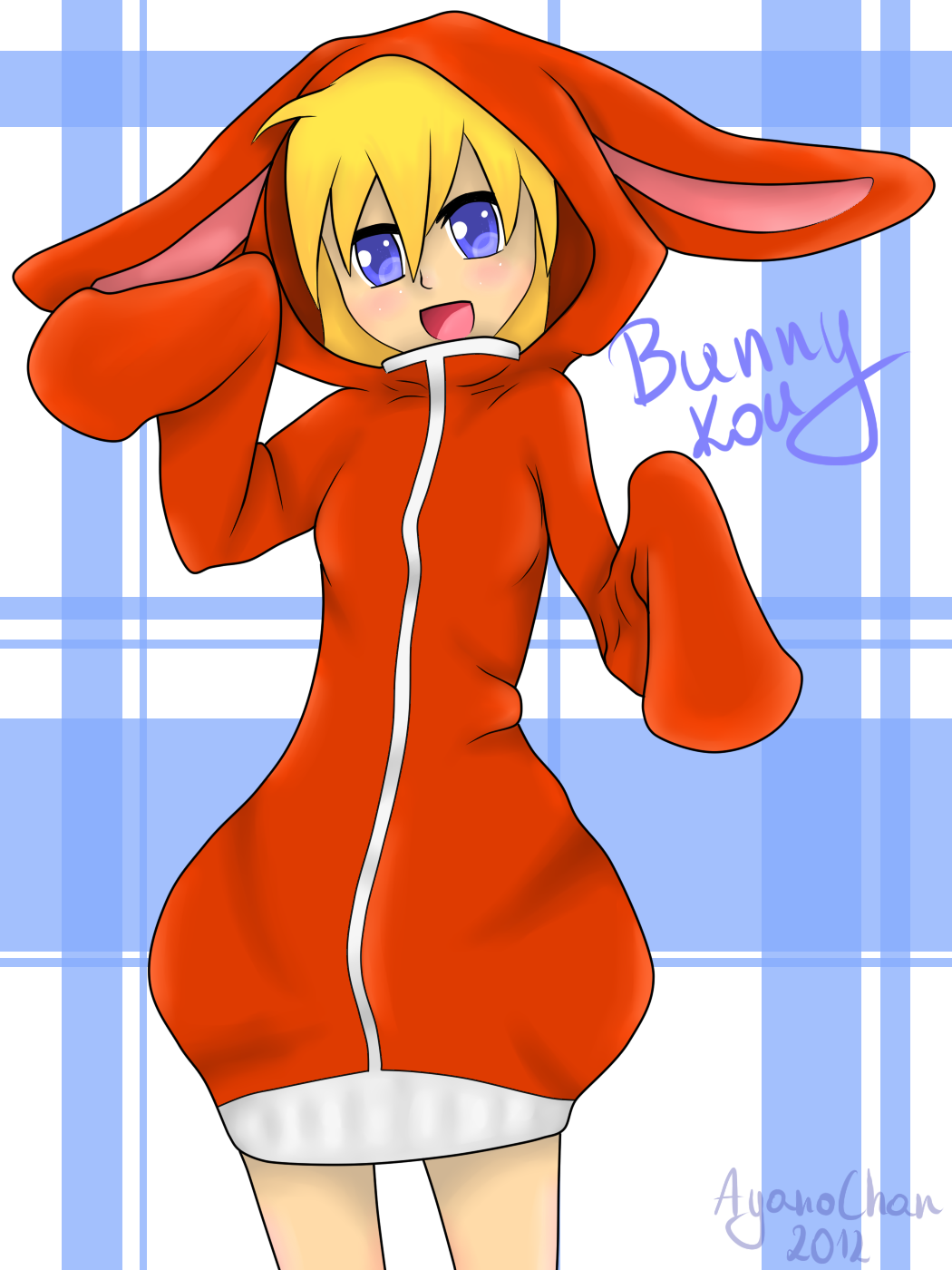 Bunny_Kou [Fanart] :3 by AyanoChanx3