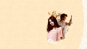 Amy and Eleven wallpaper by TinaTurtle