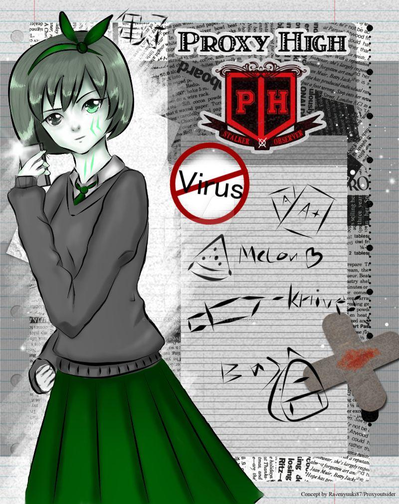 AntiVirus / Madeline Proxy High Student Aplication by Kameko-Kaname