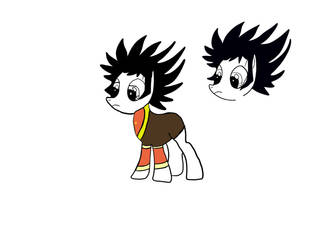 Kabuto Kouji as a Pony WIP by Nechutsu