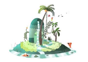 my island by s4yo
