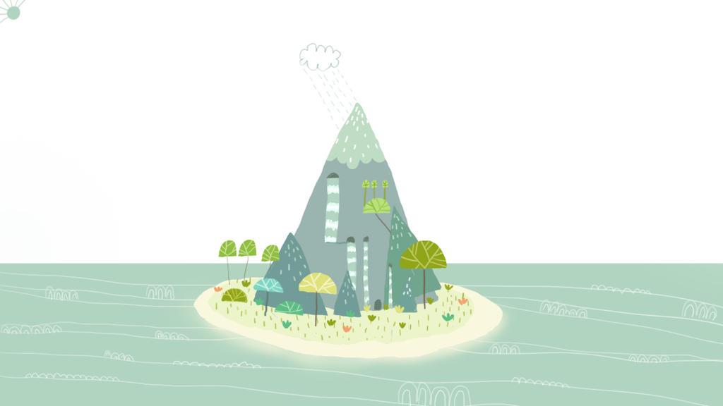 My little island of joy by s4yo