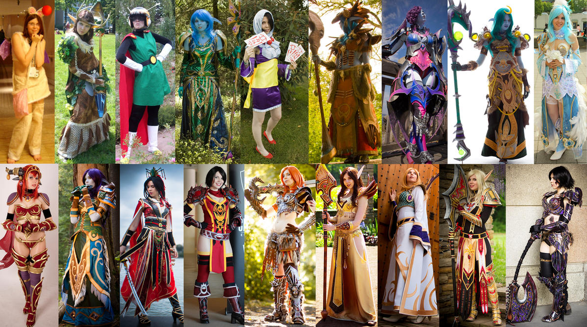 10 Years of Cosplay Evolution by KamuiCosplay