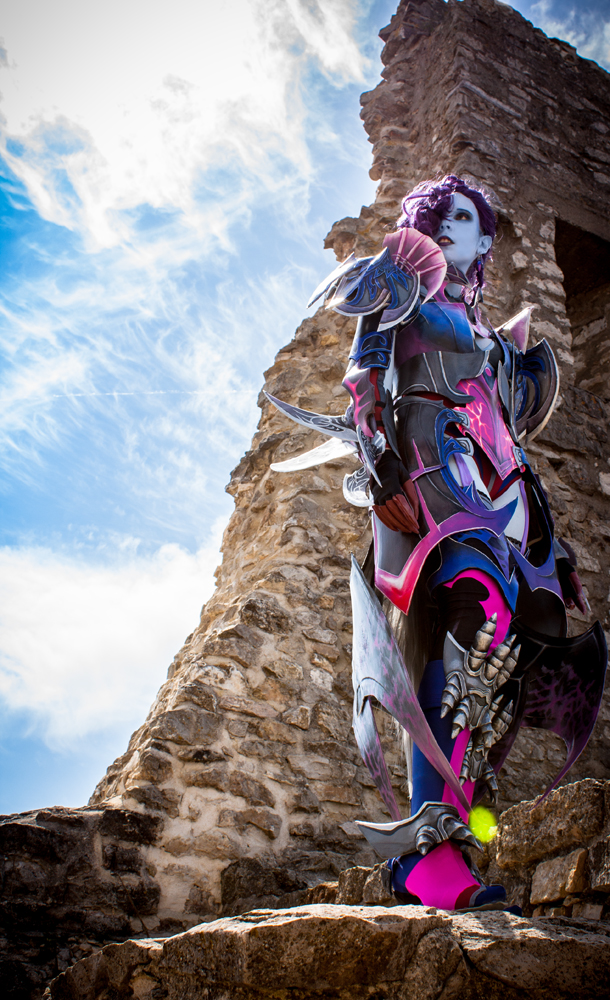 The Gladiator - Asmodian - Aion by KamuiCosplay