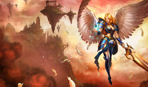 kayle artwork chinese no chinese words