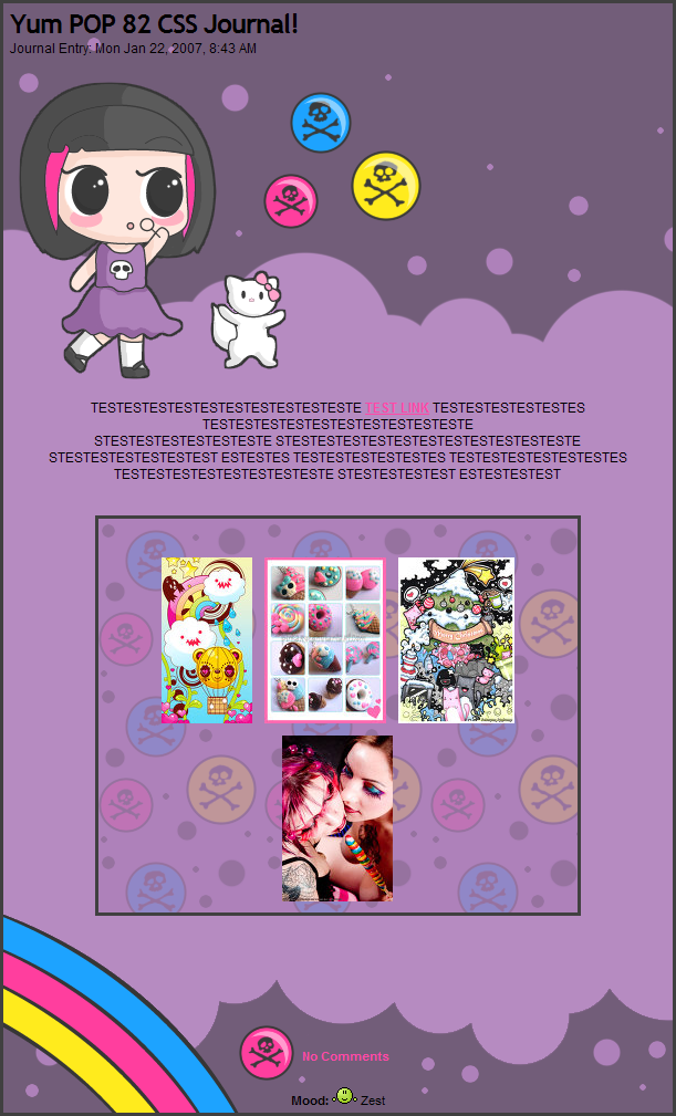 YumPOP82 - CSS Journal by candysores