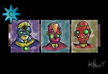Robots by Grinder40