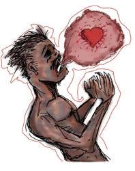 Broken heart (a promise kept) by Grinder40
