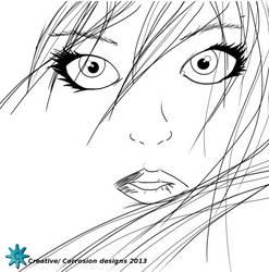 una chica... by Grinder40