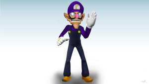 Waluigi Smashified by JDMH