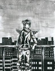 + Gift - Hiro et la ville + by Kyriu-chan