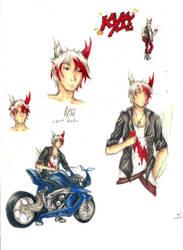 Sketchpage - Kyze by Kyriu-chan