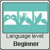 British Sign Language Stamp | Level: Beginner by just-a-doodler