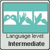 British Sign Language Stamp | Level: Intermediate by just-a-doodler