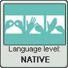 British Sign Language Stamp | Level: Native by just-a-doodler