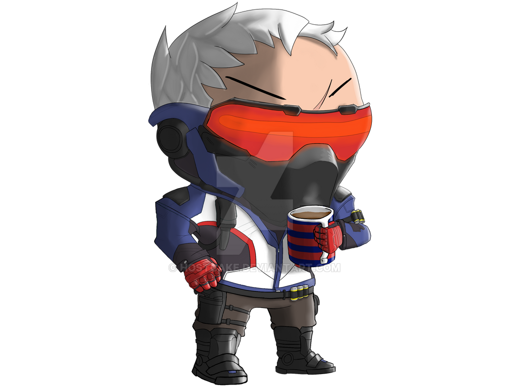 Soldier 76 by Hostcake