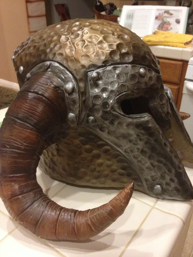 Skryim Ancient Nord helm 1 by selever2000