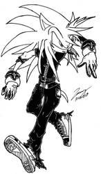 Art Gift: Ichiro The Hedgehog- Running!