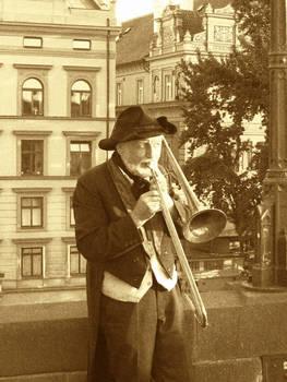 Grandpa's trumpet