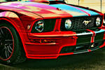 HDR Mustang