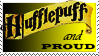 Proud Hufflepuff Stamp by DarthRegina125