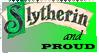 Slytherin Pride Stamp