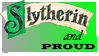 Slytherin Pride Stamp by DarthRegina125