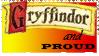 Gryffindor Pride Stamp