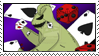 Oogie Boogie Stamp by DarthRegina125