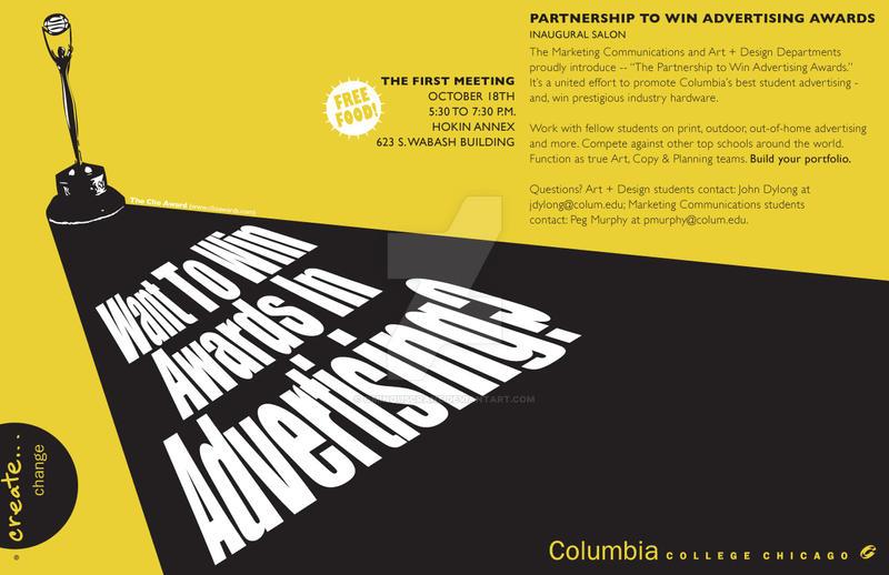 Marketing Poster-Yellow by ominouscrane