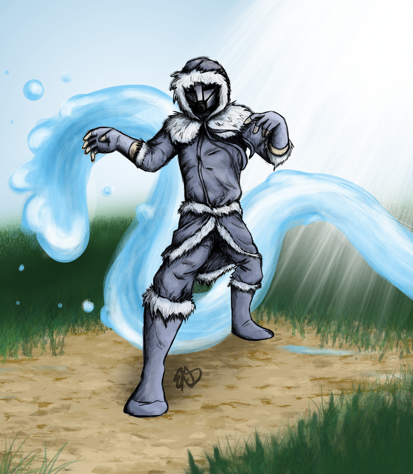 Waterbender By Darkliath On DeviantART