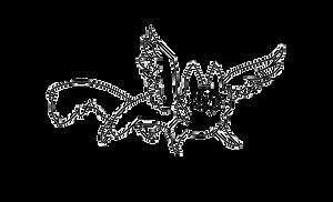 Winged Cat lineart by jealousapples