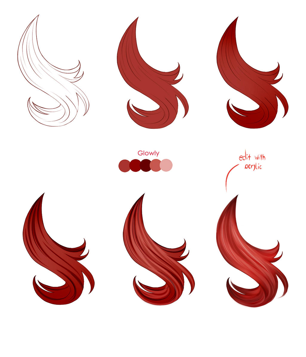Hair tutorial paint tool sai by pittsdolls on deviantart hair tutorial paint tool sai by pittsdolls ccuart Images