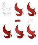 Hair tutorial - Paint tool SAI