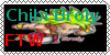Chibi Broly Stamp by ItsCAPTAIN-ToYou-Lad