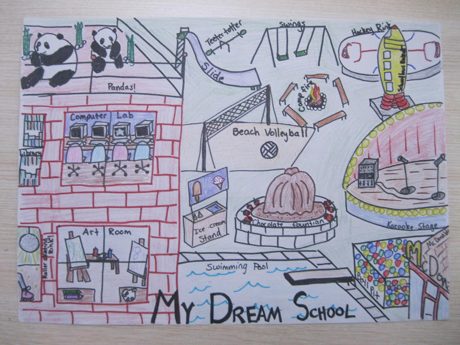 my dream school essay for kids L c, student, dakota valley high school grade 11 my dream is that someday  kids will not have to live in poverty it makes me see how fortunate i am to have.