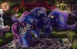 Commission: .:Lunarkiss:. by StarletNightwind