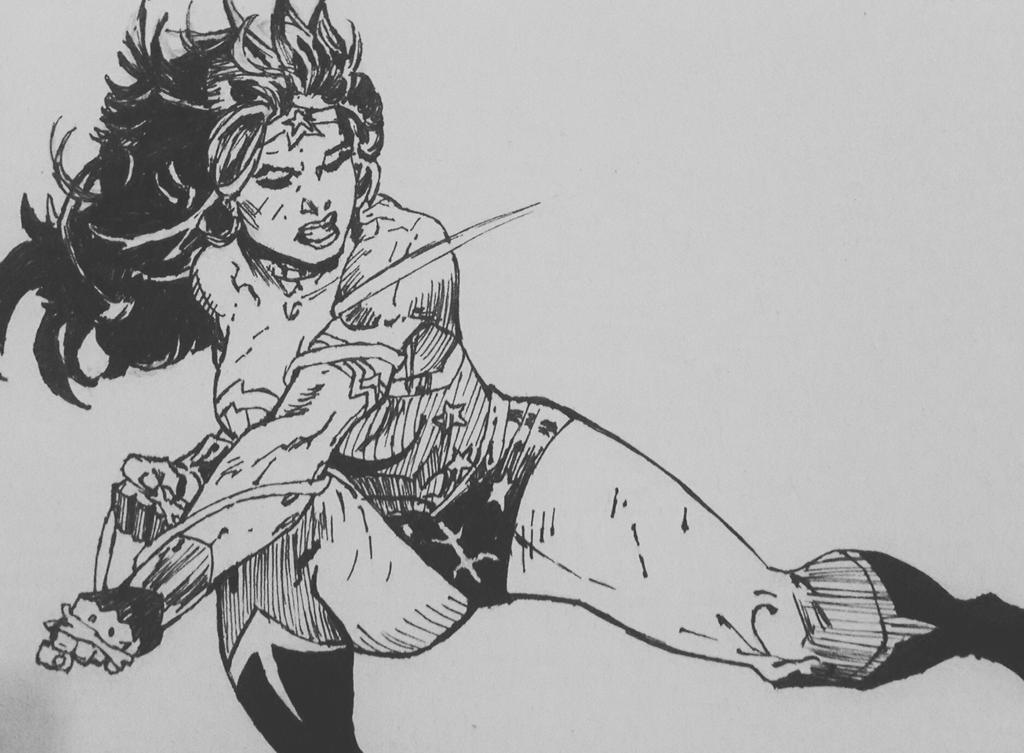 Wonder Woman by kunstb
