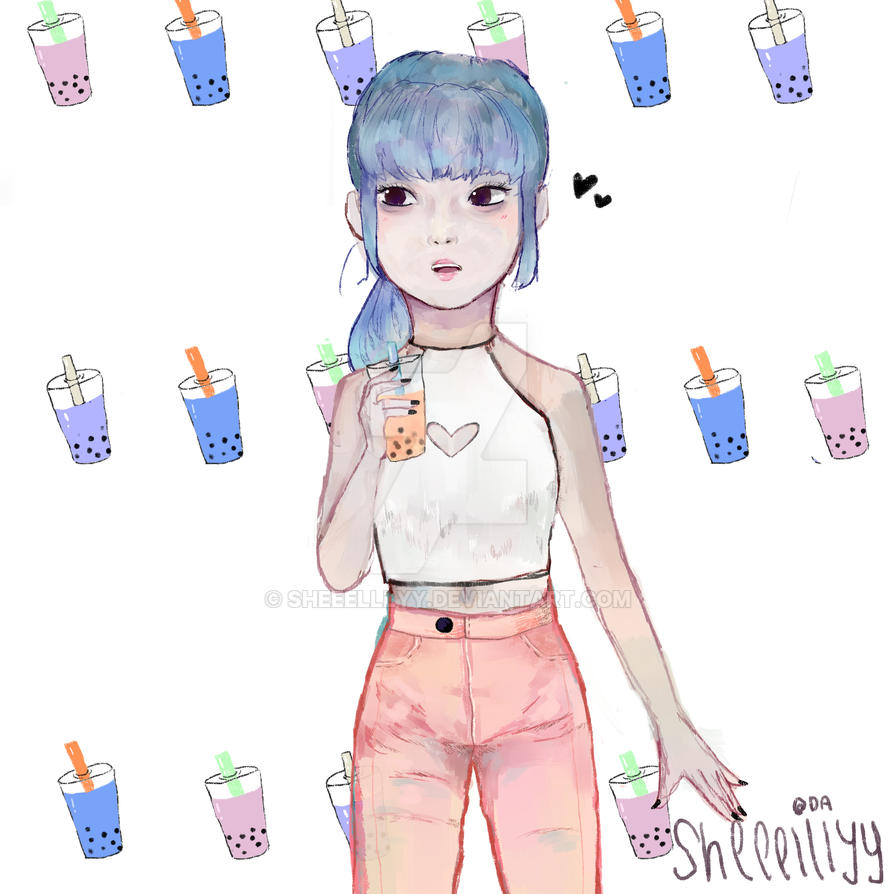 Bubble Tea by Sheeelllyy