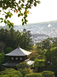 A late afternoon in Ginkakuji
